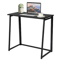 GreenForest Small Folding Desk Space Saving Computer Desk Wo