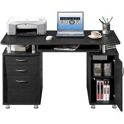 Techni Mobili Solutions Super Storage Computer Desk, Espress