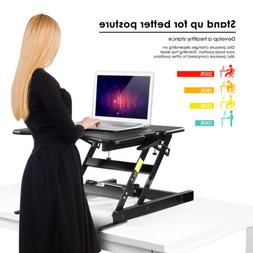 Standing Desk Stand Up Office Height Adjustable Computer Tab