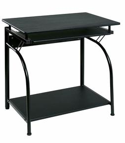 OneSpace Stanton Computer Desk with Pullout Keyboard Tray, B