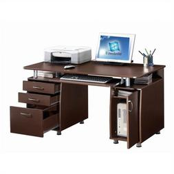 SUPER STORAGE HOME OFFICE COMPUTER DESK
