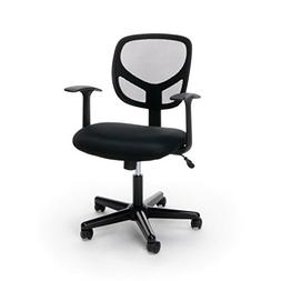 Swivel Mid Back Mesh Task Chair Arms Ergonomic Computer Offi
