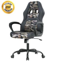 Swivel Office Chair Gaming Desk Racing Gaming Chair High Bac