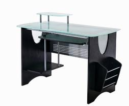 Tempered Glass Computer Desk - Techni Mobili