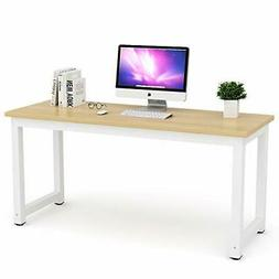 Tribesigns Computer Desk, 63 inch Large Office Desk Computer