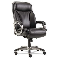 Alera Veon Series Executive High-Back Leather Chair with Coi