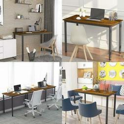 WeeHom Computer Desk 55 inch Large Size PC Table for Home Of