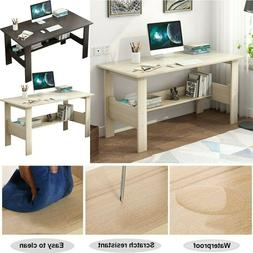 Wood Computer Desk PC Laptop Writiting Table Workstation Hom