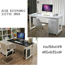 Wooden Computer Table Study Desk PC Laptop Workstation Home