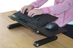 WORKEZ KEYBOARD TRAY adjustable height computer stand on des