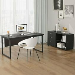 Tribesigns Modern Computer Desk 55'' Home Office Writing Tab