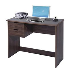 Writing Computer Desk Study Table with 2 Side Drawers Classi